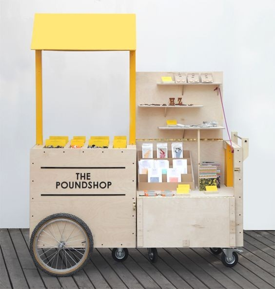 Poundshop Mobile Stand